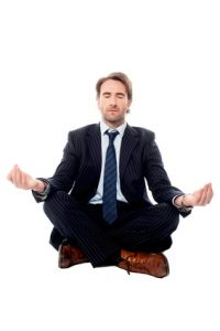 בריאות הוליסטית - מדיטציה בחליפה